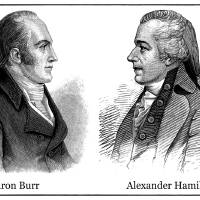 Aaron Burr and Alexander Hamilton Art Prints & Posters by Phil Cardamone