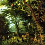 """Jan Brueghel the Younger Paradise"" by motionage"