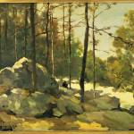 """Jan Hendrik Weissenbruch, forest"" by motionage"