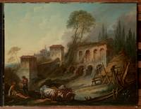 Imaginary Landscape with the Palatine Hill from Ca