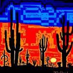 """""""Desert Sunset"""" by davegafford"""