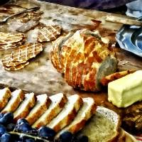 Bread and Butter Art Prints & Posters by Susan Savad