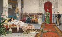 Juan Gimenez y Martin, visit to the harem