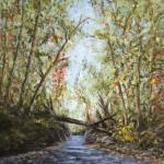 """flooded fall stream"" by Matthew_Hannum"