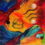 """meditation B"" by carmen-b-costello"