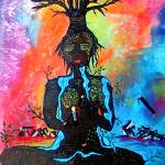 """""""Mother Earth contemplating mans love, mans way."""" by carmen-b-costello"""