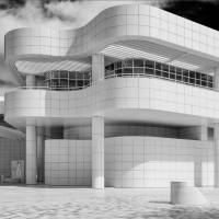 White - Getty Center - Los Angeles Art Prints & Posters by James Howe