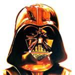 """""""Gold Vader"""" by BenHuckeArt"""