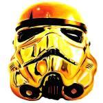 """""""Gold Trooper"""" by BenHuckeArt"""
