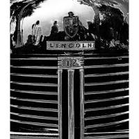 Lincoln Grill B&W Art Prints & Posters by David Caldevilla