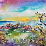 """""""MonterossoalMareLEMONOrchards6000"""" by GinetteCallaway"""