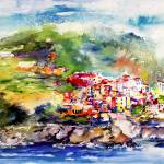 """wc-16y20Corniglia-4PRINTS_pe"" by GinetteCallaway"