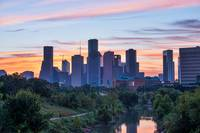 Houston Bayou Sunrise