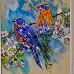 """Thomas Dillon Birds White Frame"" by thomasdillon"