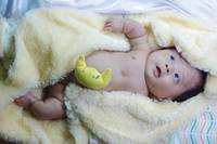 Baby rajava ,Osteogenesis imperfecta,very happy