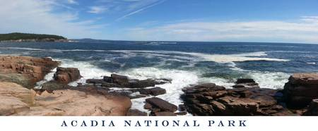 Acadia National Park Panorama