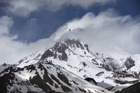 Snow Covered Mountain Kazbek