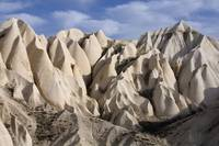 Stone Formation in Cappadocia, Turkey