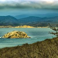 Mountains and Sea at Machalilla National Park Art Prints & Posters by Daniel Ferreira-Leites