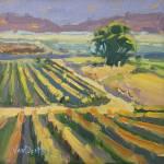 """""""Colorful Vineyard HUGE"""" by KimVanDerHoek"""
