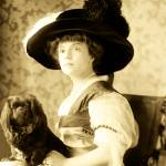 """""""Vintage Lady With Lapdog"""" by mariancates"""