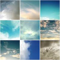 nine square sky color