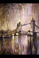 Painting of Tower Bridge- London, England