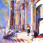"""Potosi watercolo16x24"" by RFoxWatercolors"
