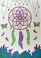 Zentangle Dreamcatcher