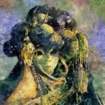 """Carnivale_batik"" by RFoxWatercolors"