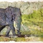 """""""Elephant20x30"""" by RFoxWatercolors"""