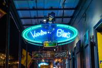 Neon Voodoo Blue Sign
