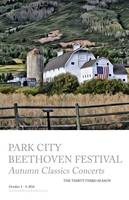 Beethoven Festival Poster