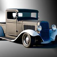 1932 Ford Pickup Truck Art Prints & Posters by Dave Koontz