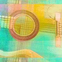 Guitar Study One 2016 Art Prints & Posters by Faye Cummings