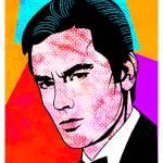 """Alain Delon-Popart"" by thegriffinpassant"