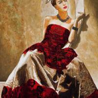Frida de Montparnasse Art Prints & Posters by George Yepes