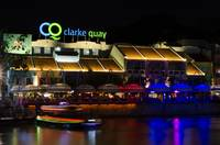 Singapore at Night Clarke Quay