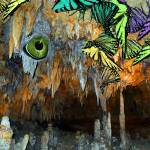 """VisionintheBowelsoftheEarthwButterflies2N4746"" by LyndaLehmann"