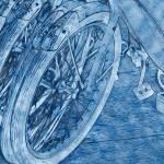 """""""Wheels in Blue"""" by LyndaLehmann"""