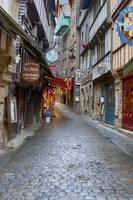 Street in Le Mont Saint Michel