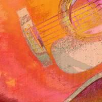 Guitar Study Six Art Prints & Posters by Faye Cummings