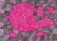 Cute Geometrical Piggy