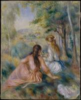 In the Meadow , Auguste Renoir