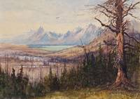 JOHN FERY (1859-1934) Jackson Lake & the Teton Ran