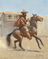 MAYNARD DIXON (1875-1946) Ranchero of Old Californ