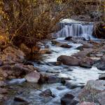 """Waterfall_On_Beautiful_Boulder_Creek"" by lightningman"