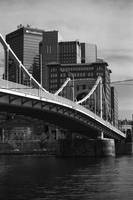Pittsburgh Skyline and Bridge 2001