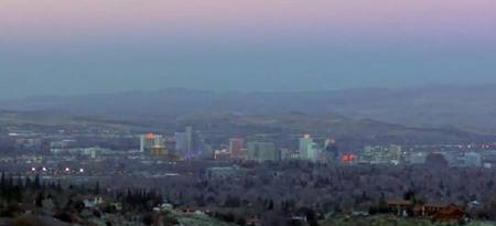 Reno from the distance