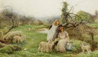 Robert Walker MacBeth - Lambing Time